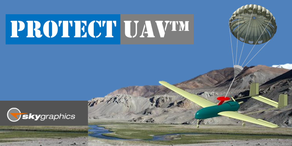 Protect UAV Rescue/Recovery Chutes