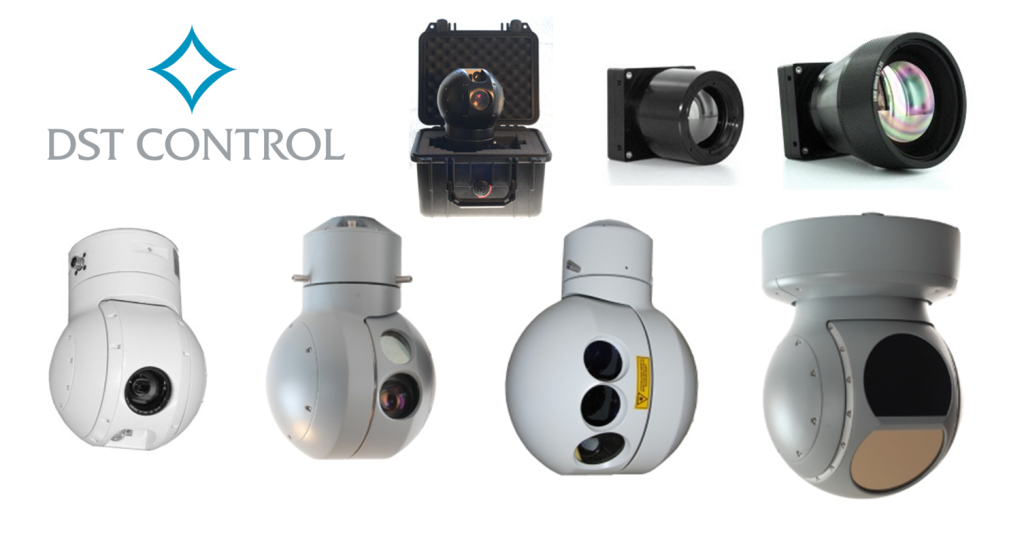 DST Control gyro-stabilized electro-optical systems (EO/IR) & small light-weight thermal imagers